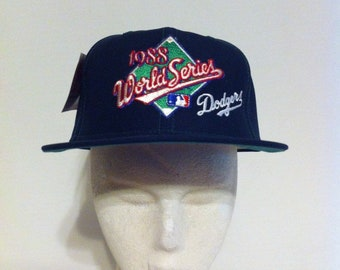 1988 World Series Los Angeles Dodgers New Era Baseball Hat, LA DODGERS snapback baseball cap, Los Doyers, New With Tags, New Old Stock