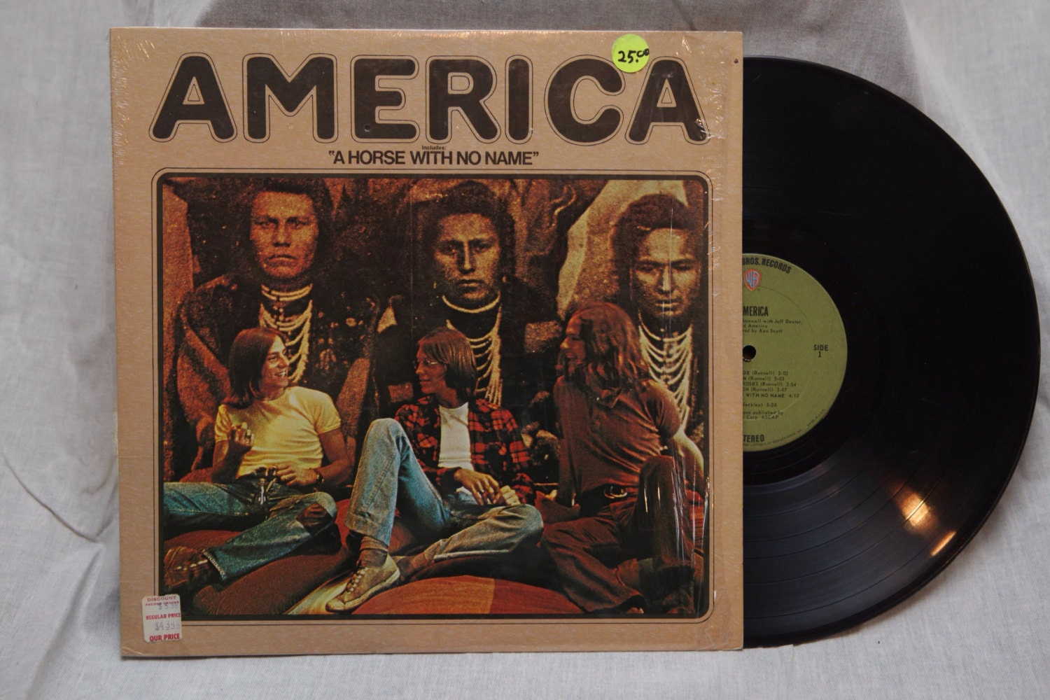 FREE Shipping, America - A Horse With No Name Vinyl