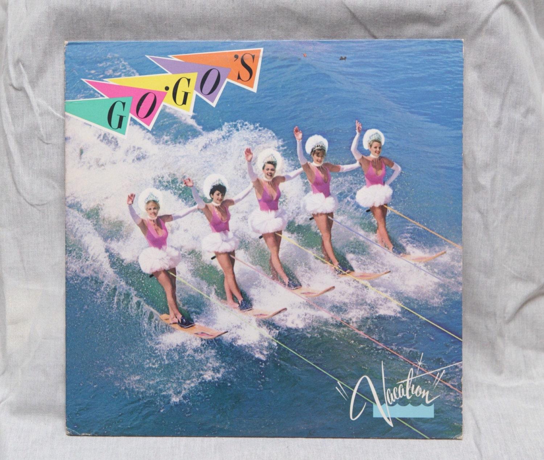 The Go Go's - Vacation Vinyl Record Album LPs, 80s New