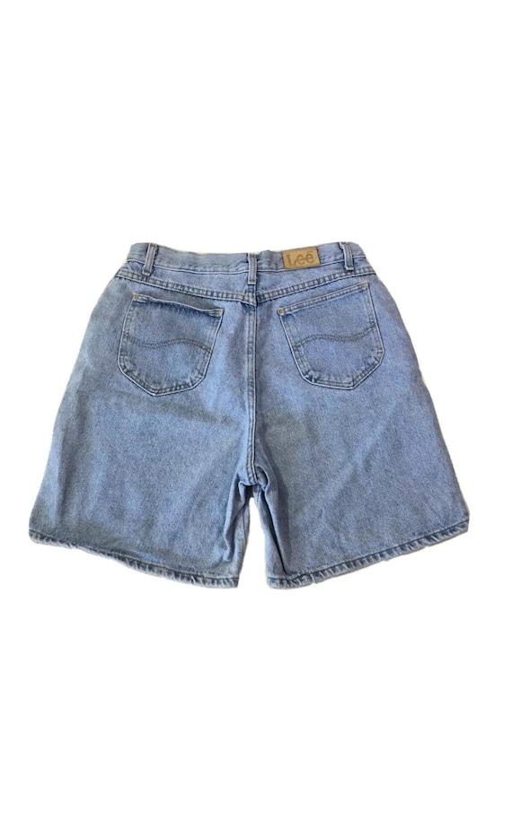 90s Vintage Lee Light Wash Denim High Waisted Jean