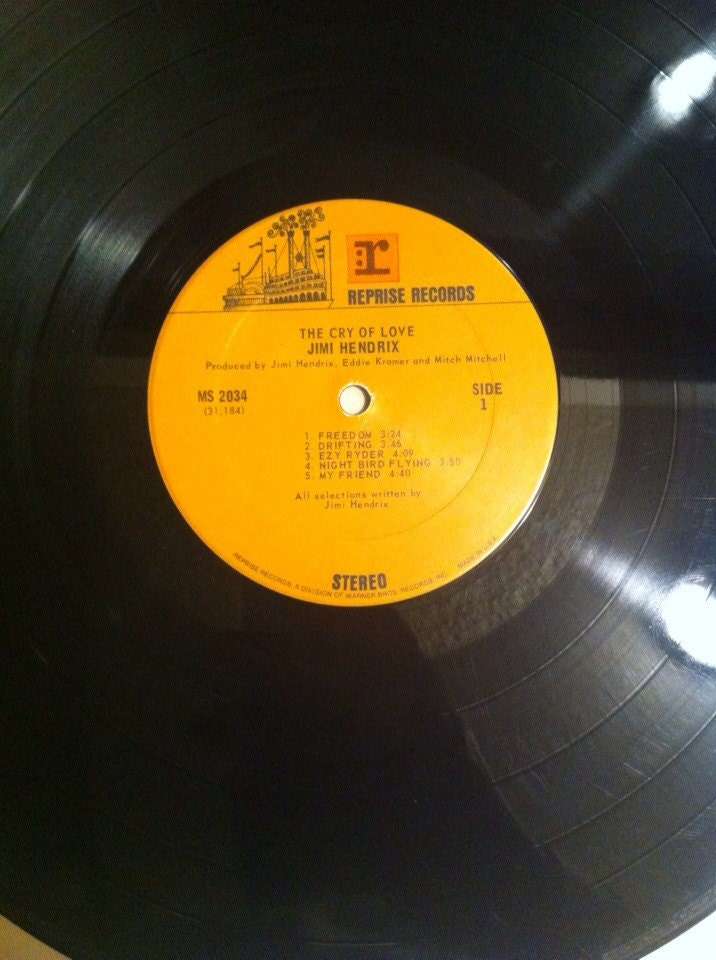Jimi Hendrix - Cry of Love, Vintage Vinyl Record Albums LP, Vinyl