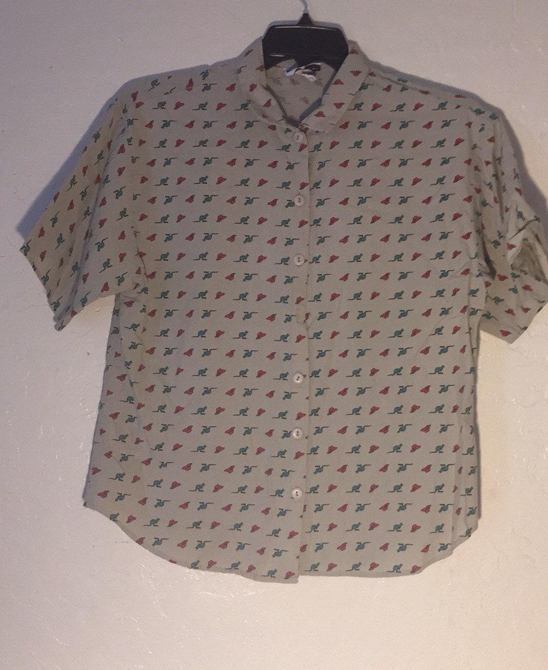 c5e11624921a68 90s Vintage Blouse