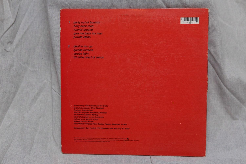 The B52's - Wild Planet Vintage Vinyl Record Album LPs, 80's