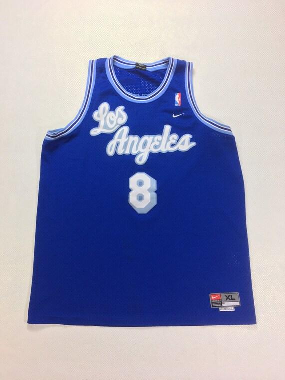 Authentic Nike Throwback LA Lakers Away Kobe Bryant 8 Jersey   Etsy