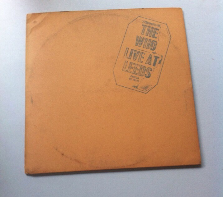 The Who - Live at Leeds, Vintage Vinyl Record Albums LP