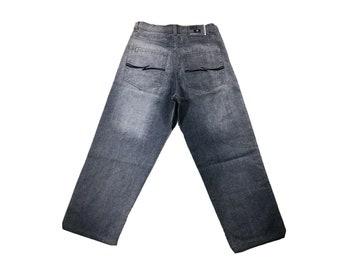 Vintage South Pole 36 Baggy Wide Leg Hip Hop Grunge Rave Skater Jeans Streetwear