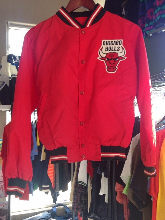 90s Vintage Chicago Bulls Starter Jacket, Starter