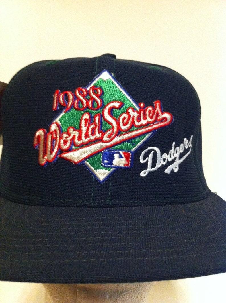 50d8106317a466 1988 World Series NWT Los Angeles Dodgers New Era Baseball | Etsy