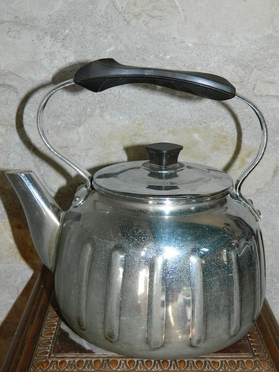 Antique Vintage 1920 French electric kettle Coffee Pot Calor  Ancienne Bouilloire Calor 1920
