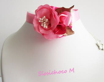 collier  bouquet de fleurs (Créateur)