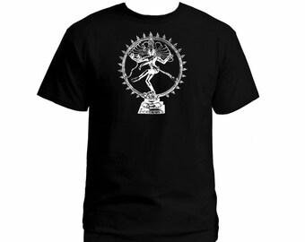 348ea5e3d2278 Nadarajah Shiva God spirit yoga black t-shirt S-2XL