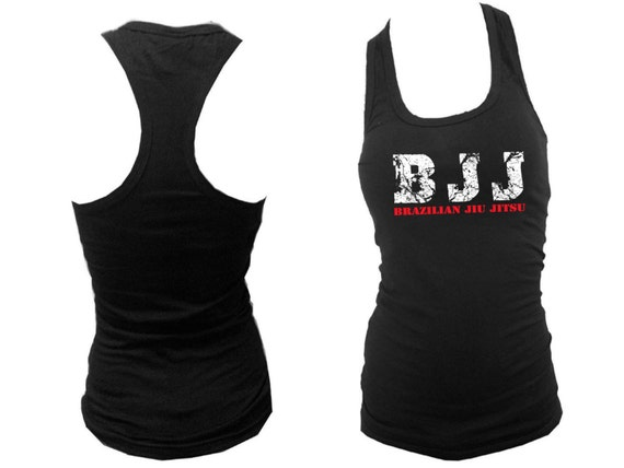 1a05f20ee06ab Brazilian Jiu Jitsu BJJ racerback women teens sleeveless black