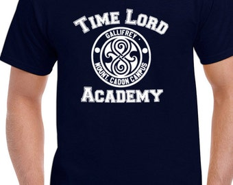 Dr Who Time lord academy gallifrey paydonian chapter mount. cadon chapter tee t-shirt tshirt tops short sleeve men women ladies unisex