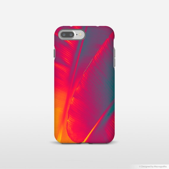 Red Leaf Art Cell Phone Case Banana Leaf Art Iphone X Cases Galaxy S7 Case Designer Phone Cases Smartphone Case Ul014