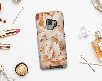 Vanadinite phone case for iPhone 12, iPhone 11, iPhone X, Google Pixel and Samsung phones, Crystal mobile cover, Bling phone cases. MW155