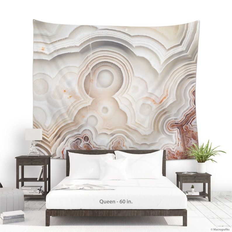 Abstract tapestry of a Laguna Lace agate mineral for photo image 0