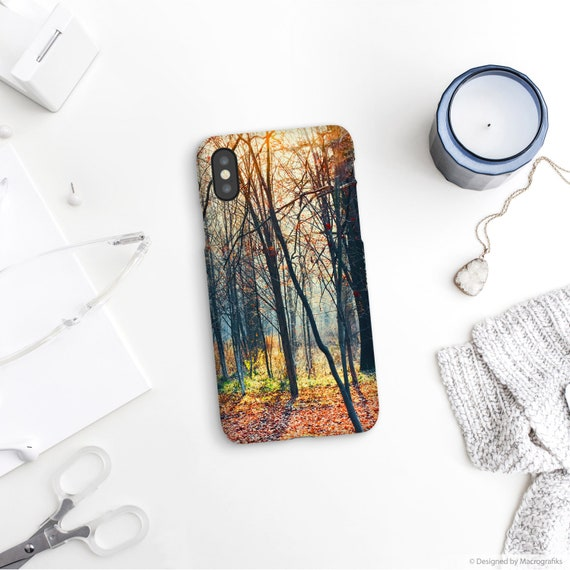 Forest Phone Case Black Trees Iphone Xs Max Cell Accessories Iphone7 Iphone 8 Gift For Him Samsung Cases Google Pixel Lg Ul065
