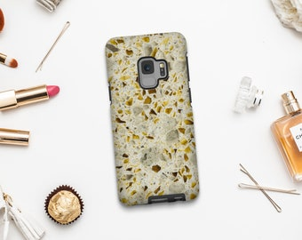 Stone texture phone case, Google Pixel XL case, Samsung A5 2017, Samsung S9 Plus, iPhone 6S, Samsung Galaxy S8, iPhone X, iPhone 7. MW096