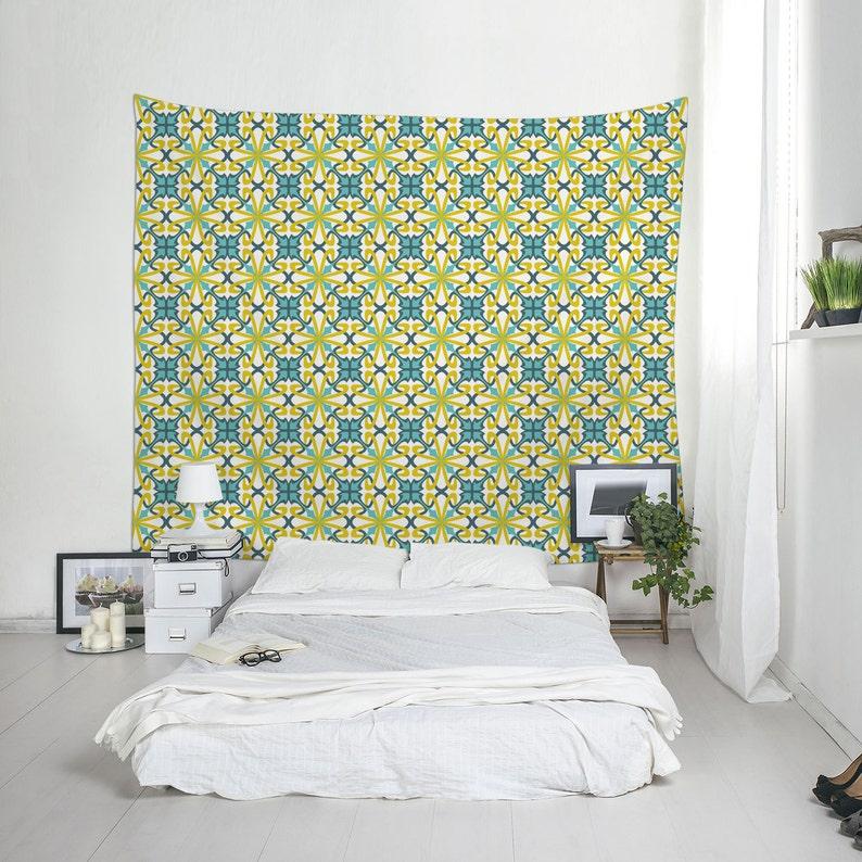 Art nouveau wall decor, Wall hanging tapestry, Fabric wall art, Dorm  Hangings, Bedroom decor, Outdoor tapestry, Lightweight wall art. SP023