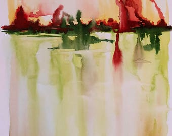 """Unmapped and Unmappable, 15"""" x 11"""""""