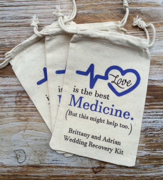 Wedding Day Images With Name: 10 Wedding Recovery Kit Bags Wedding Day Survival Kit