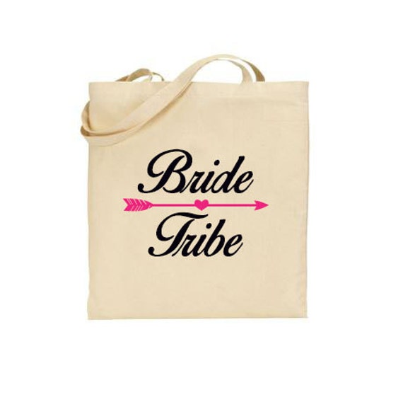 Bride Tribe tote bag, Bachelorette weekend tote, Bachelorette party tote, Bridal party tote, Bridesmaid tote, Maid of Honor tote