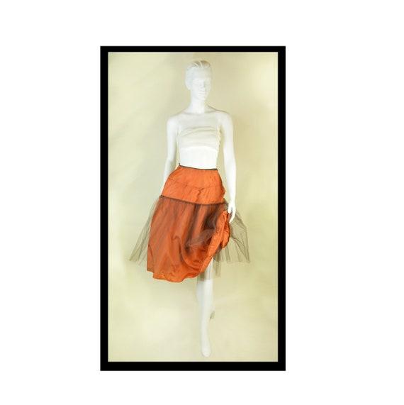 Crinoline Vintage Tulle Crinoline 1950s Petticoat