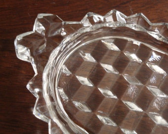 Fostoria AMERICAN Individual Sugar and Creamer Tray Only!