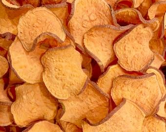 Organic Dog Treats - Organic Sweet Potato Chips - 4 oz