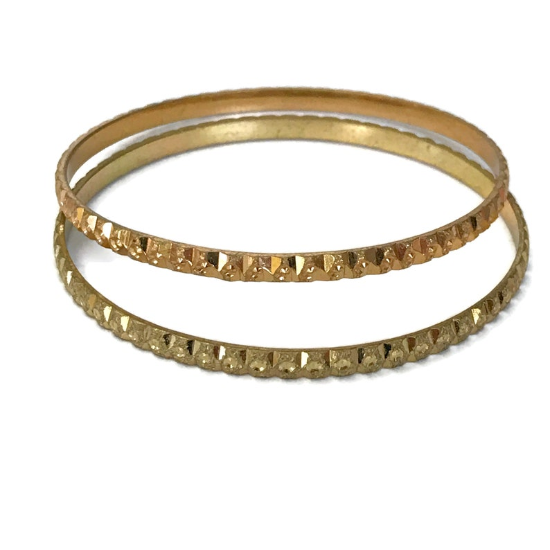 Ba b548 Golden Bangles Set Indian Bollywood Designer Party wear Jewelry