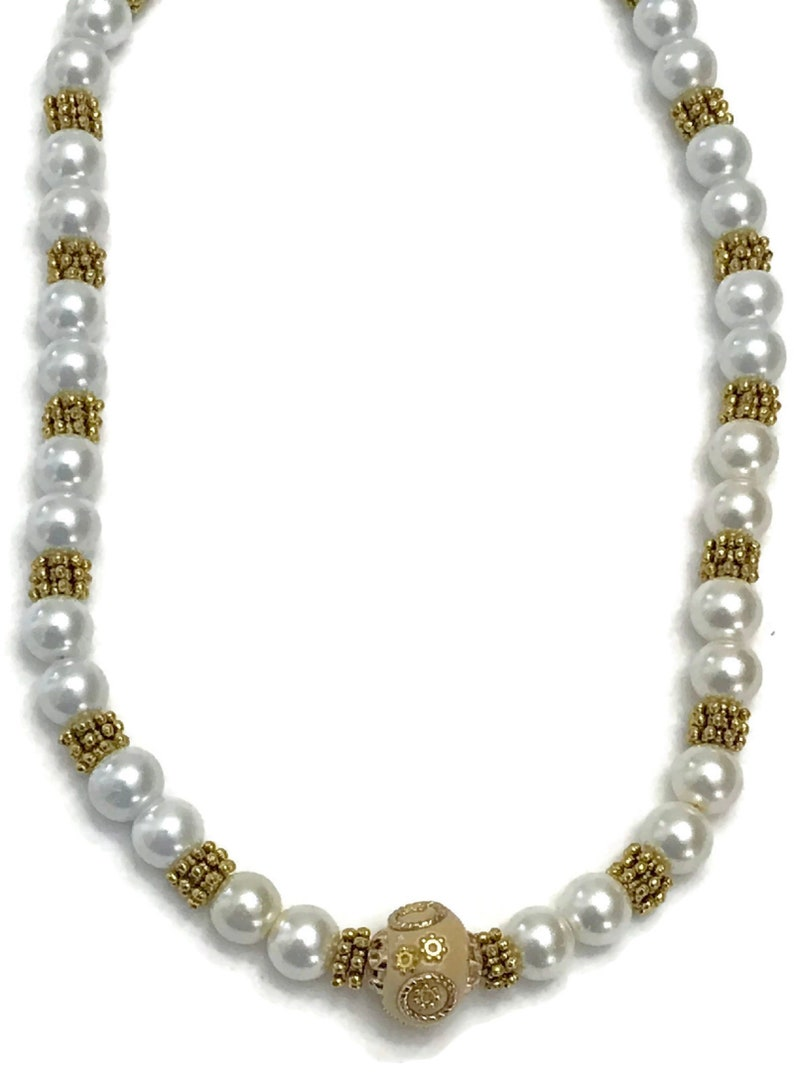 Indian Party wear Jewelry.Surbhi Na n066  New Bollywood Designer 17 Inches Pearls Necklace Mala