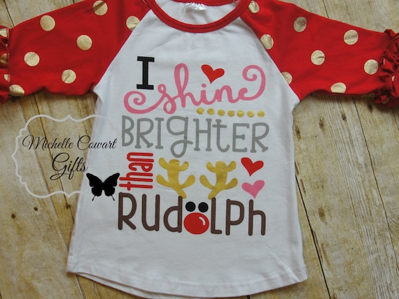 Baby Toddler Girl Christmas Red Blank Icing T-Shirt Top Holiday Ruffled 18M-6//7