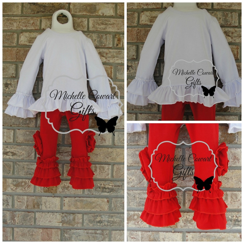 Valentine Red White Monogram Outfit Monogrammed Outfit  89079af17