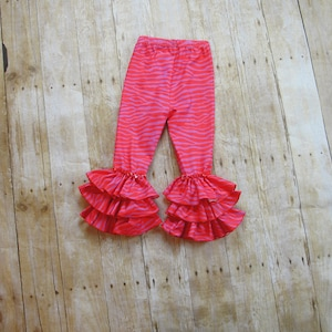 Triple Ruffles Leggings Girl 3T//4T
