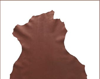 A119-P-chocolate brown NUBUCK leather.