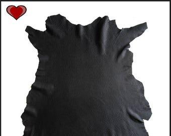 A147-M / / lamb skin leather deep, crisp, Semi Aniline - Xl / /.