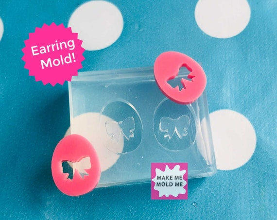 13mm Easter Egg Stud Earring Silicone Mold EM277