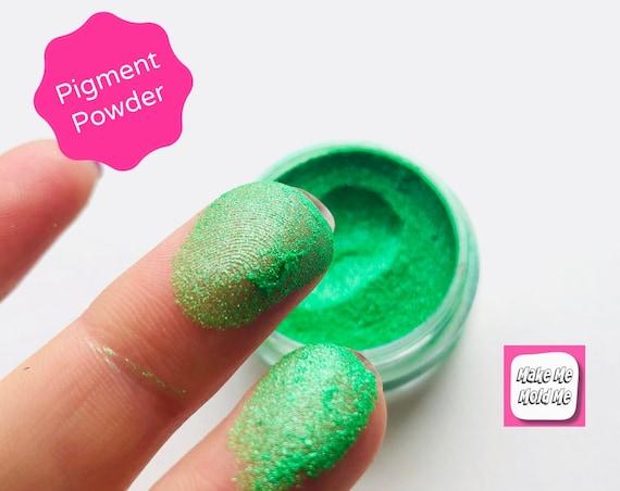 Amazing Apple Green Metallic Pigment Powder | Resin Jewellery | Craft MM29