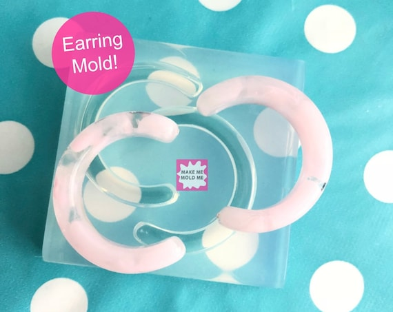 40mm Silicone Earrings Mold Resin EM269