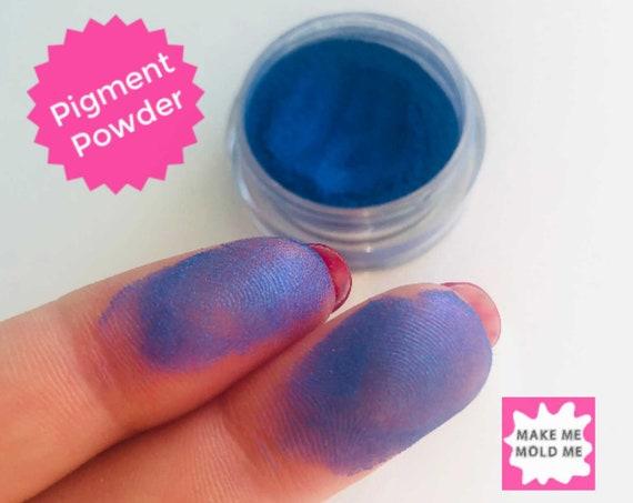 Amazing Sapphire Blue Metallic Pigment Powder  MM14