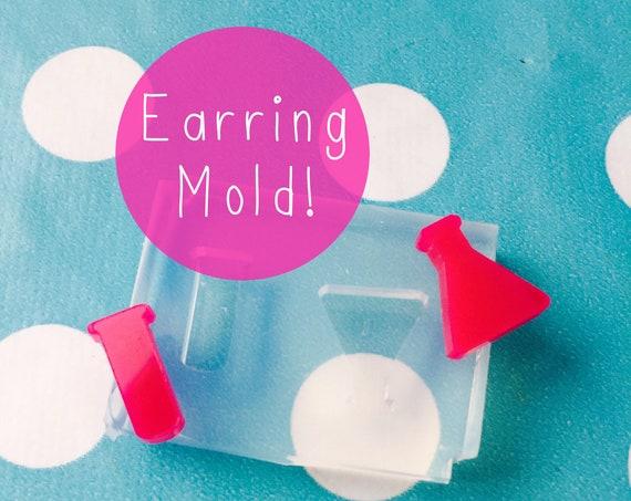 Chemistry Set Earring Mold EM166
