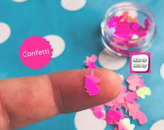 Amazing Pink Unicorn Confetti MM77