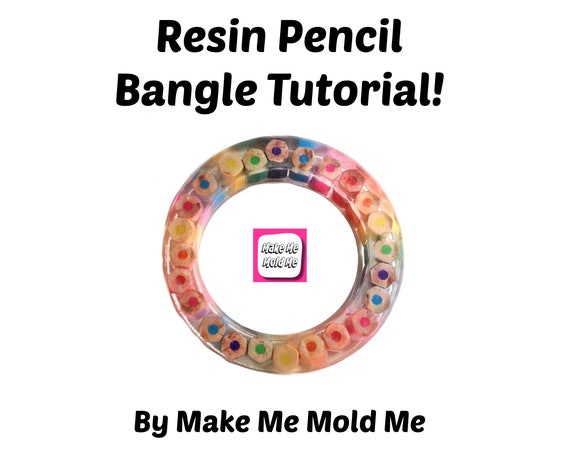 Pencil Bangle Tutorial - Resin DIY How to Jewellery Jewelry TT01