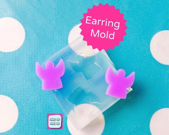 Angel Stud Earring Mold EM211