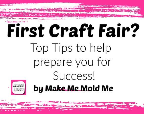 12 Craft Fair Tips PDF Tutorial Download TT03