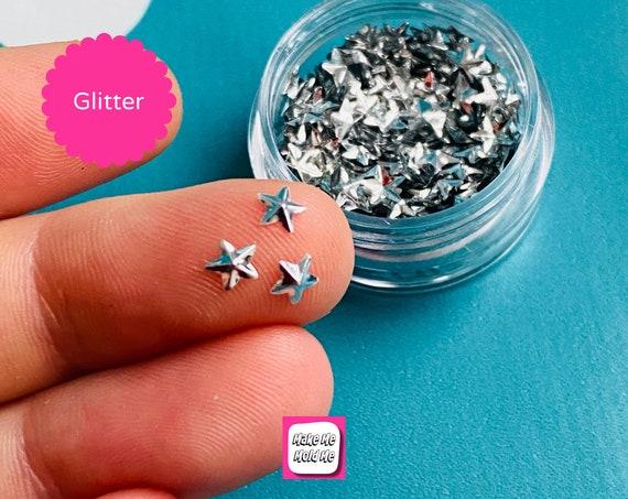 Amazing 3D Silver Star Shape Confetti MM96