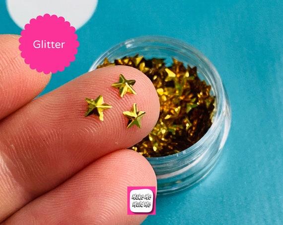 Amazing 3D Gold Star Shape Confetti MM97