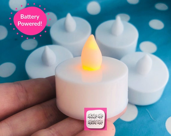 5 x Battery Powered Tea light Candle MM47