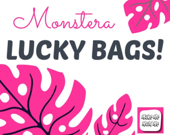 Up to 60% Off Monstera Mold Lucky Bag! MM84