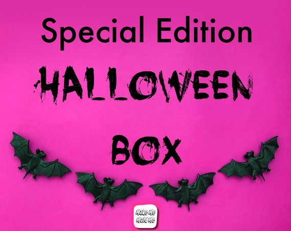 The Make Me Mold Me Special Edition Halloween Box
